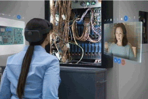 Connected Worker, Microsoft HoloLens