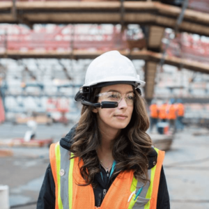 Connected Worker, Construction, Realwear, Technology Driven Operations
